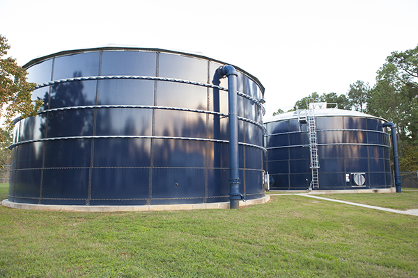 Water treatment plant in Bentwater, Montgomery, TX